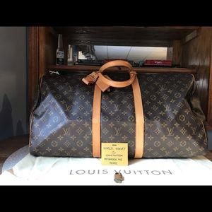 Handbags - Authentic Louis Vuitton Keepall Carryall 55 Mono